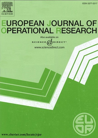 European Journal of Operational Research 256 (2017) 412–429
